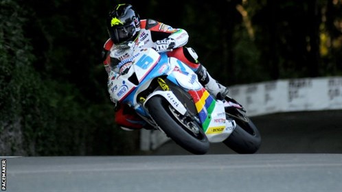 Bruce Anstey Fastest Speed 1St Session Superbike Practice 030615